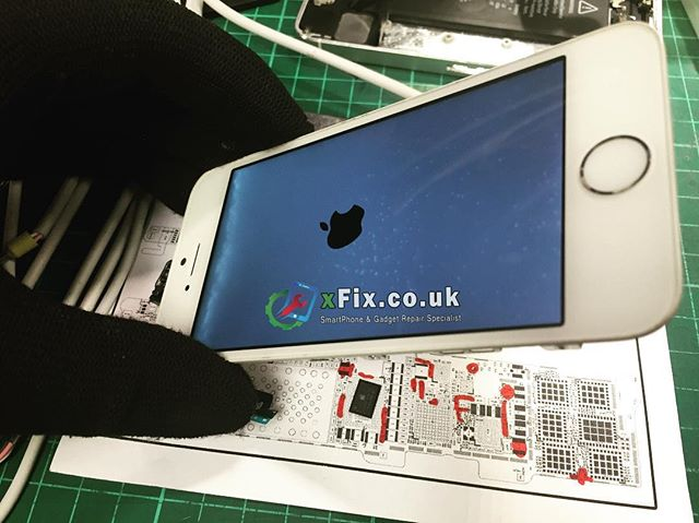 A water damaged iPhone 5s repaired for a data recovery UK.