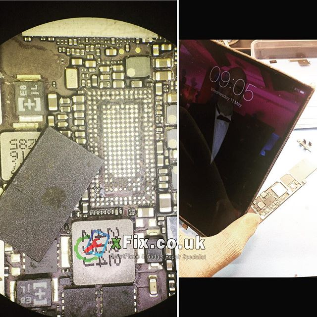 Dead iPad Mini fixed by Changing PMU Power IC . @d64321