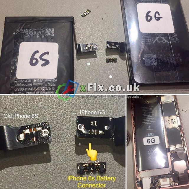 Converting iPhone 6g Battery to iPhone 6s Battery. For some reason today we couldn't get new iPhone 6s Battery for our customers so we started to make our own iPhone 6s Battery form iPhone 6 .