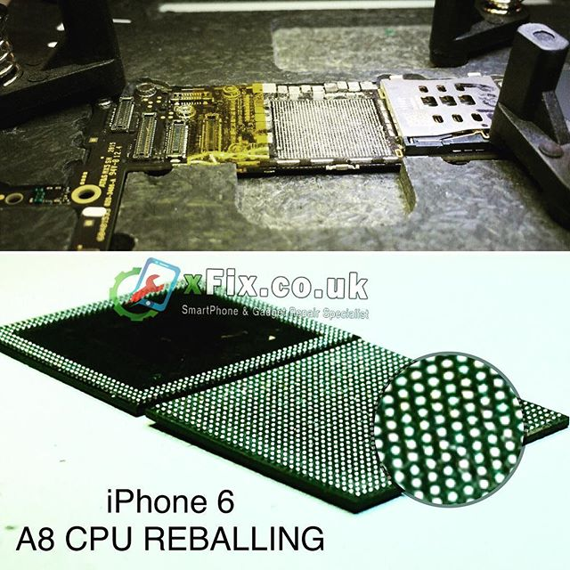 iPhone 6 A8 CPU Reballing