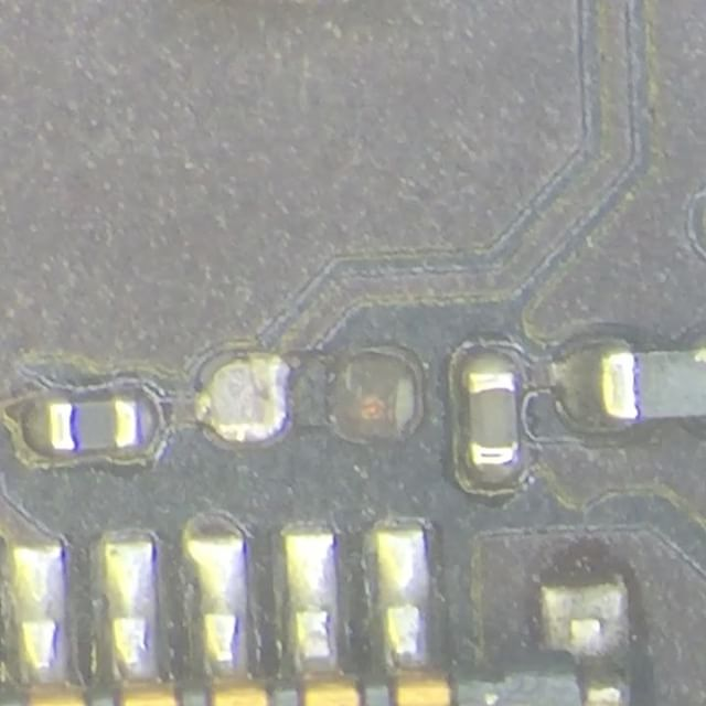 Repairing iPhone 5s Backlight Filter. Watch full video in our YouTube Channel