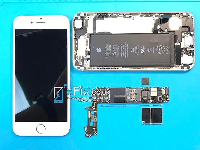 official photos 37611 79118 iPhone 6 & 6+ (No Service / Searching) Baseband Chip Repair Service UK