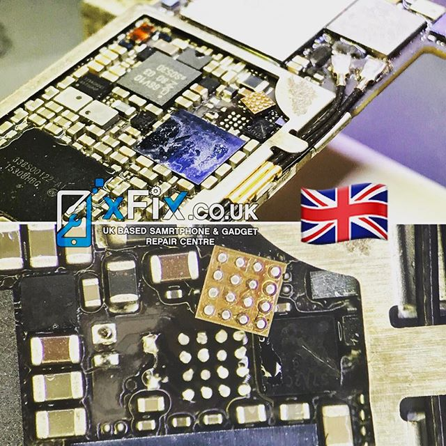 Repairing an iPhone 6s Plus Backlight IC U4020 and Diodes