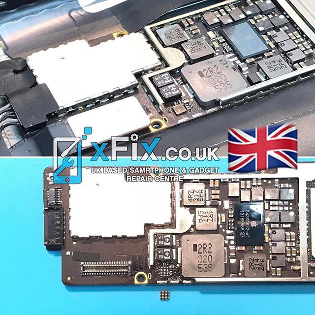 iPad 4 Charging IC U2/U5900 Replacement Repair Service UK . For book your repairs please contact us: ️Email: info@xfix.co.uk ️Tel : +44-7507711117  Website : www.xFix.co.uk .