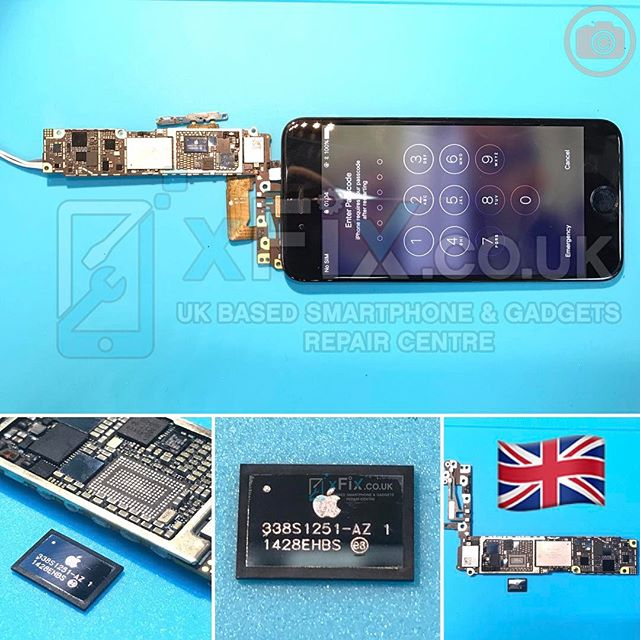 Dead iPhone 6 has repaired for Data Recovery purpose after PMU Replacement