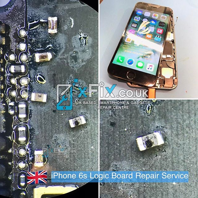 "Repairing a Water Damaged iPhone 6s with ""No Display"" Issues"