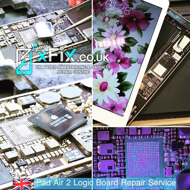Dead iPad Air 2 has been Repaired After Power IC (PMU/U8100) Replacement . . For book your repairs please contact us: ️Email: info@xfix.co.uk ️Tel : +44-7507711117 🌎 Web: www.xFix.co.uk .