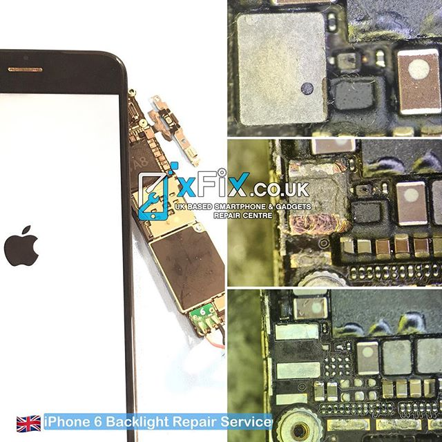 Repairing Full Backlight Circuit ( IC, Coil, Diode, Capacitors) on iPhone 6 .