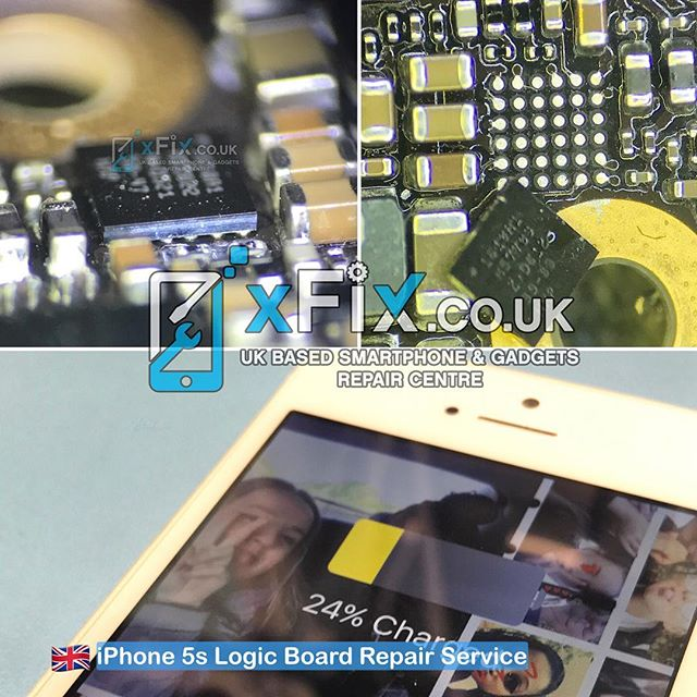 iPhone 5S Tristar / U2 IC USB chip, Not Charging, Draining  Repair Service .