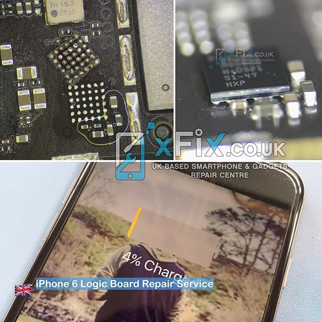 Repairing an iPhone 6 with USB/Not Charging Issue. U2 U1700 IC Chip 1610A3