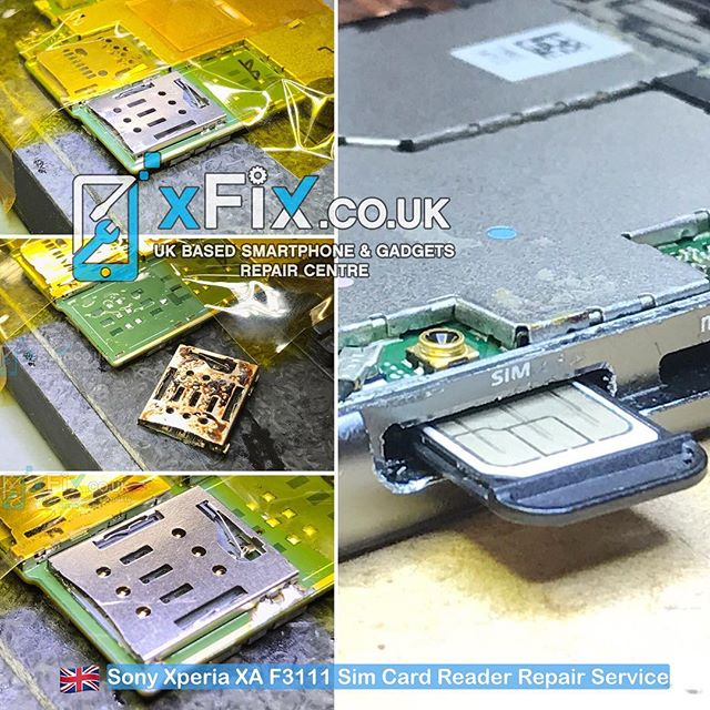 Sony Xperia XA F3111 Sim Card Reader Replacement .