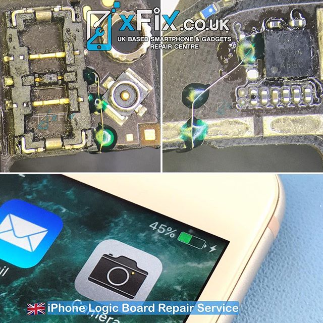Repairing Water Damaged iPhone 6+ with Charging Issue . #iphone6+