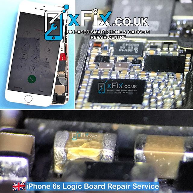 Repairing a Dead iPhone 6s with  Shorted Capacitor on PP_VCC_MAIN .