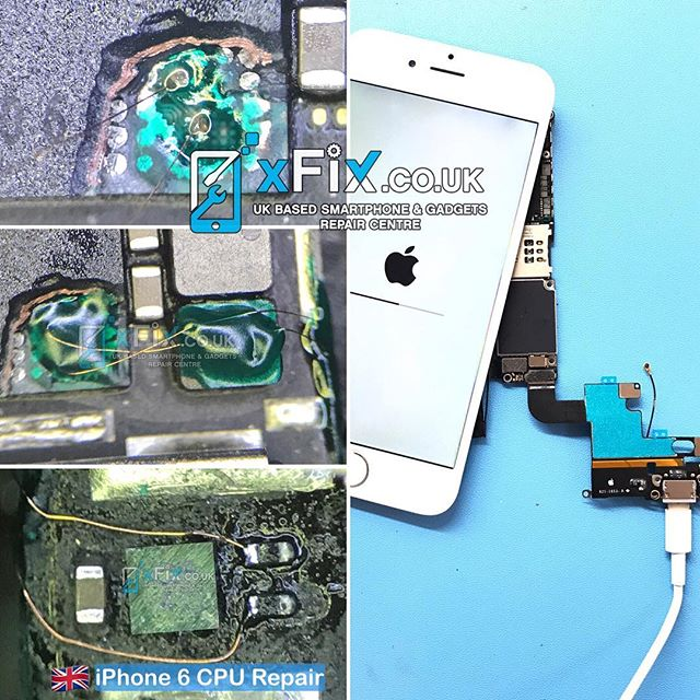 Repairing iPhone 6 with CPU issues Sent From Ireland . #