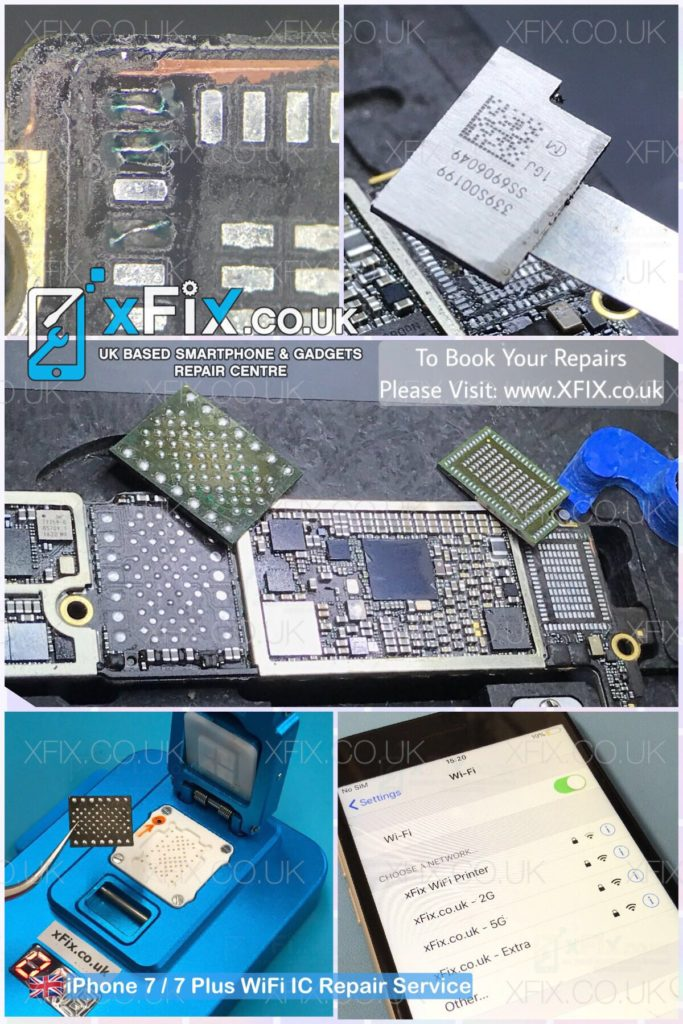 premium selection 6faf0 3ff78 Fixing iPhone 7 with WiFi Chip / WiFi Grayed Out Issue - xFix