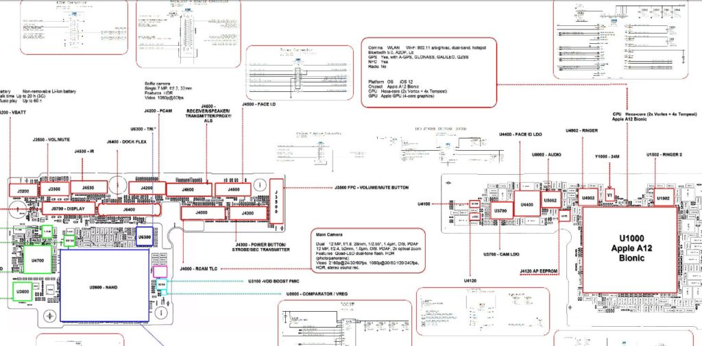xsmax schematic 1024x505 download iphone xs max and iphone xs schematic diagram xfix