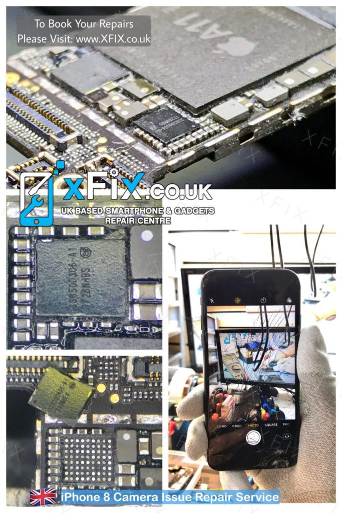 factory price 14ef1 89874 Fix iPhone 8 Camera Not Working Issue (U3700 Cam Power IC) - xFix